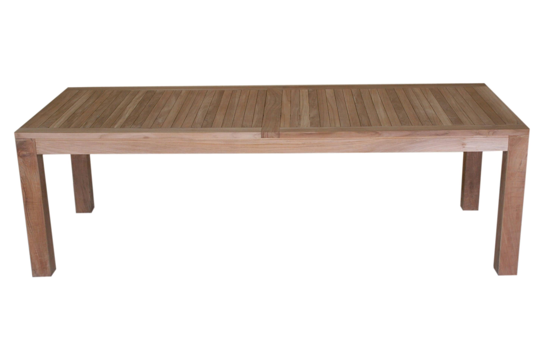 Big foot bistro table 250x100x75 cm javanesiateak - Table hauteur 100 cm ...