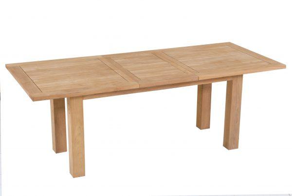 big foot rectangular extending table 160-210x100x75