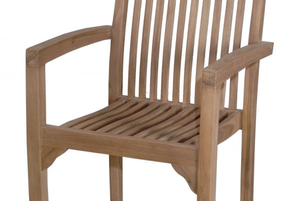 hera stacking arm chair