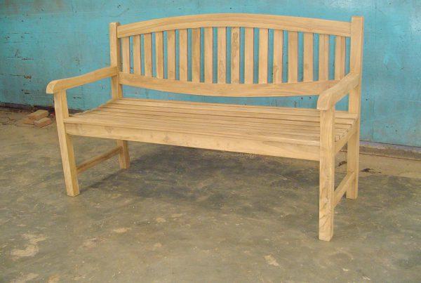 lion bench