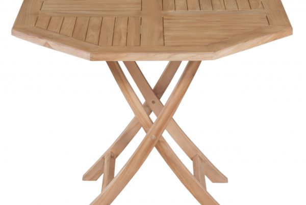 octagonal folding table 100 cm