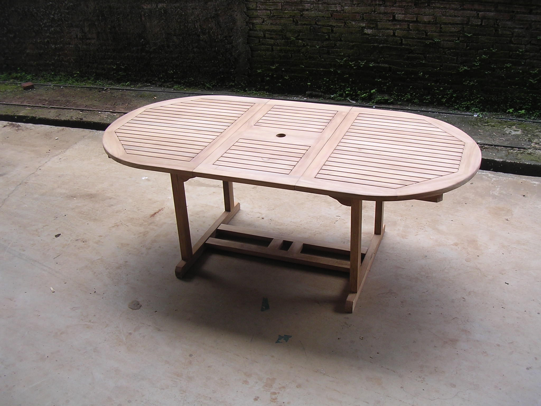 oval extending table 160-210x90x75