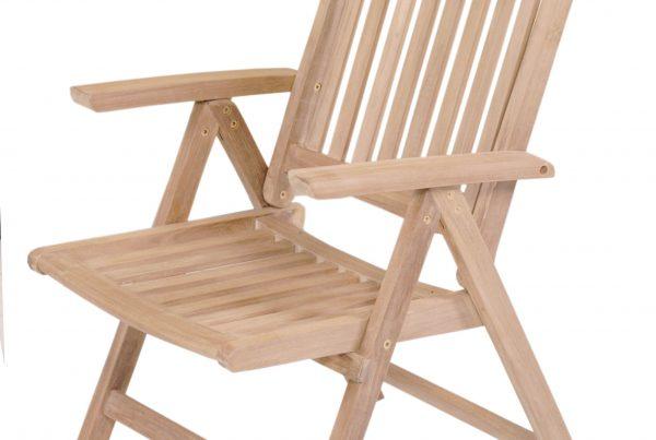 patio reclining arm chair