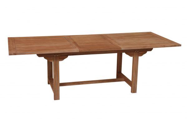 rectangular extending table 180x-240x100x75 cm