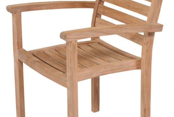 sonata stacking arm chair