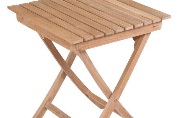 square folding table 60 cm