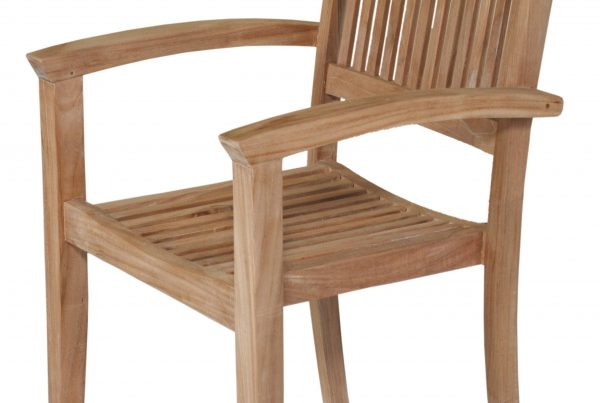 viena stacking arm chair